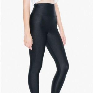 American Apparel Nylon Tricot High Waisted Legging